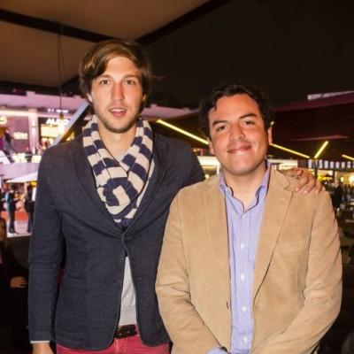 µlvaro Espino y Ercik Ramírez-Gastón.