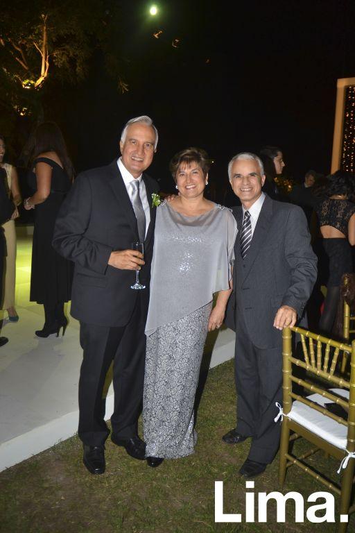 Alberto Llave, Adriana Llave y Gustavo Llave.