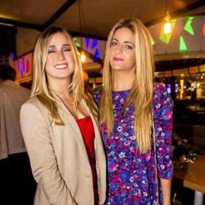Alejandra de Lasa y Claudia Peschiera.