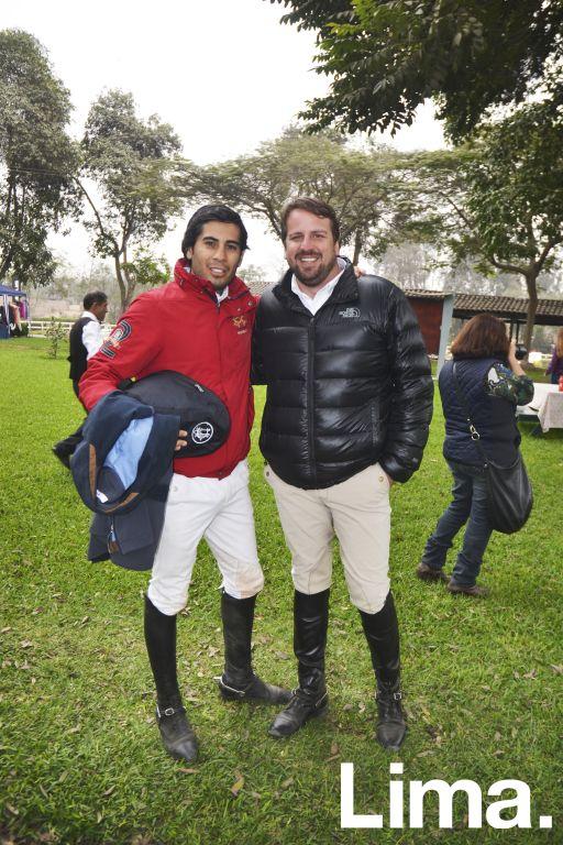 Alejandro Nuñez y Martín Caillaux.