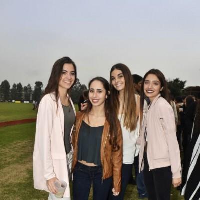 Alexia Rooth, Andrea Franco, Tamara Arosemena y Pía Velarde.