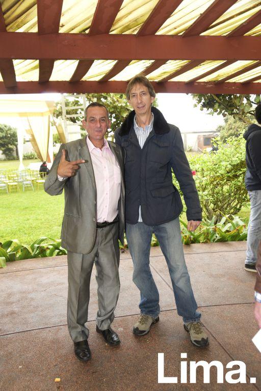 Alfredo Chirinos y Jose Velarde.