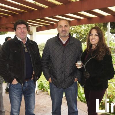 Alfredo Gulman, Jacobo Said y Vanessa Vegas.