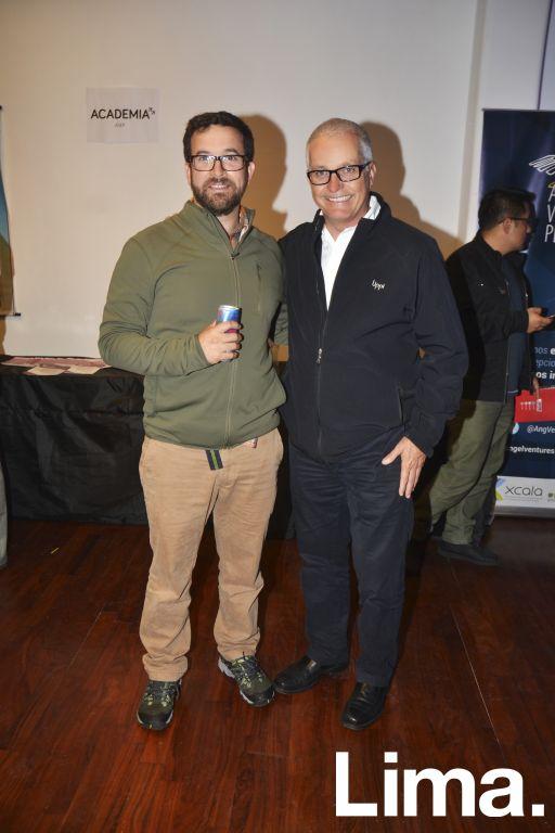 Alonso Franco y Fernando de la Flor.