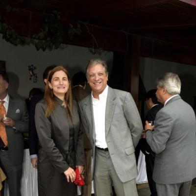 Anel Townsend y Ricardo León.