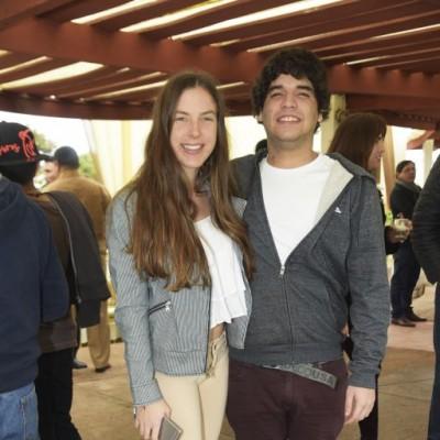 Antonella Barbieri y Nael Saba.
