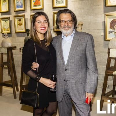 Antonella Carvajal y Melitón Carvajal.