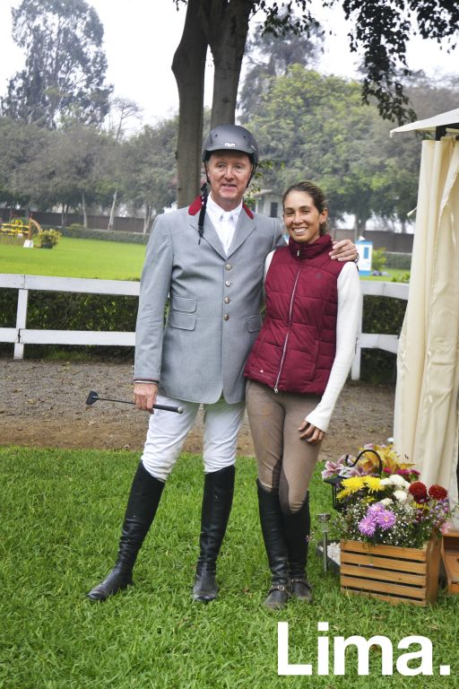 Armando Cavero y Alexandra Abrill.