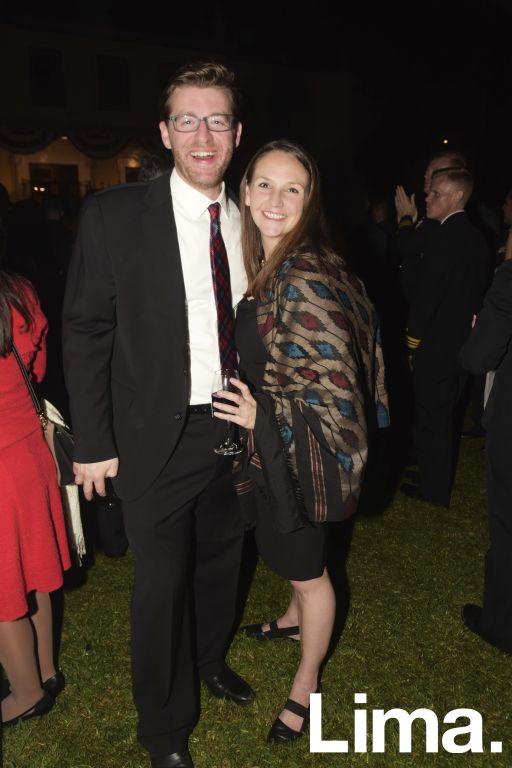 Ben Ardell y Lauren Dower.