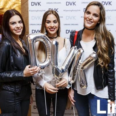 Bridget Osterling, Ximena Moral y Carolina Braedt en cóctel DVK, Caminos del Inca.