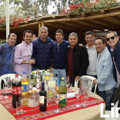 Carlos Ganoza, Gonzalo de las Casas, Diego Rebagliati, Ricardo Company, Jorge Román, John Velásquez, Jose Pereyra y Edgardo Suárez.