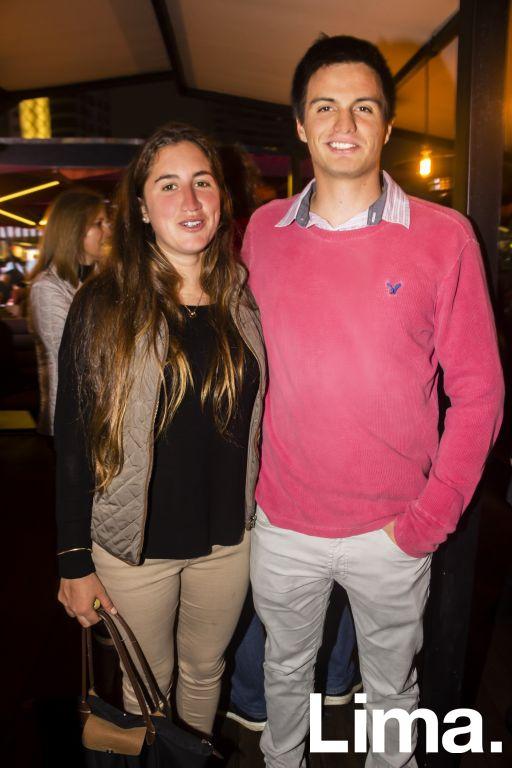 Caterina Romero y Sergio Silva.