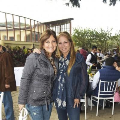 Mónica Madueño y Tenchi Sala.
