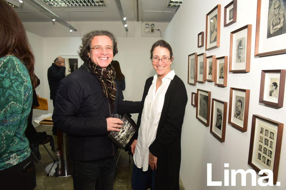 Fernando de Taboada y Denise Mulanovich.