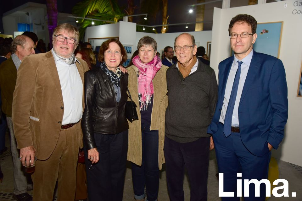 Nicolas y Raphaela y Kecskemethy, Sophie Mauries, Juan Mulder y Fabrice Mauries.