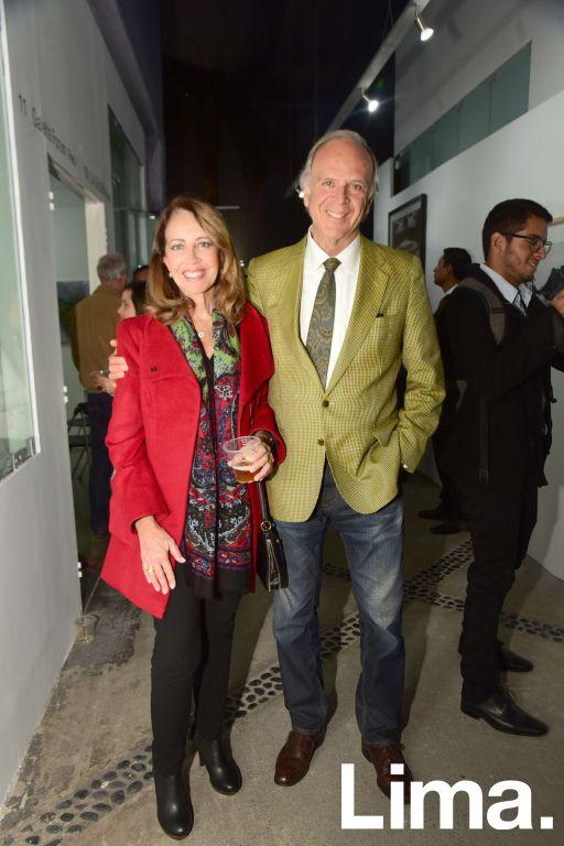 Roxana de Orbegoso y Miguel de la Fuente.