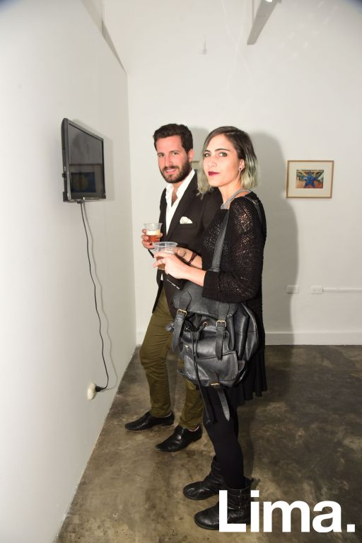 Javier Millership y Francesca Bogani.