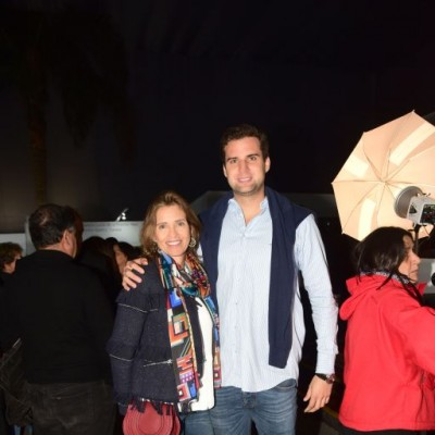Claudia Barnechea y Cayetano Barnechea.