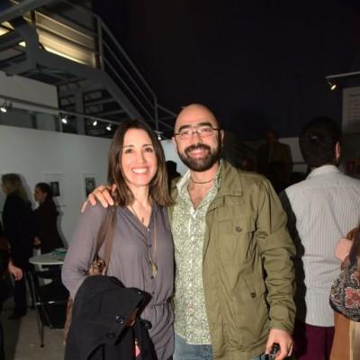 Maria Cristina Couturier y Javier Campos.