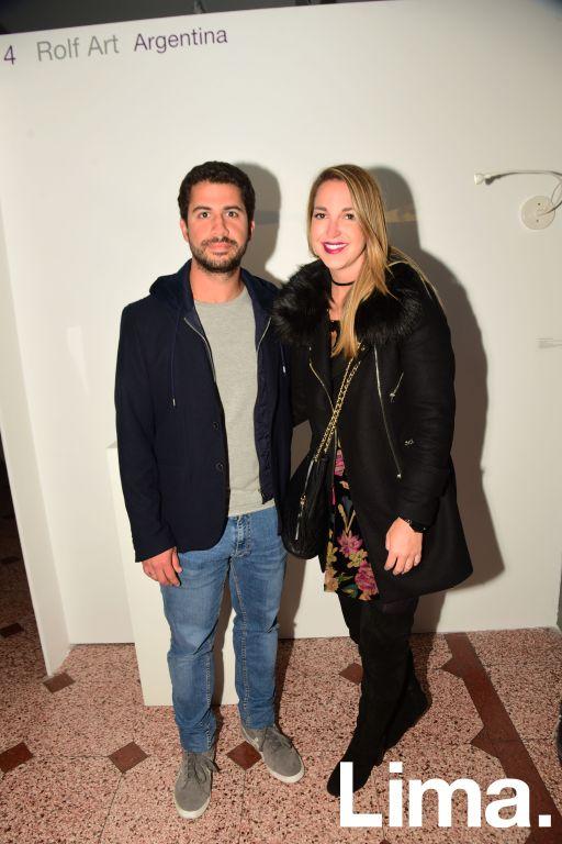 Alberto Gotuzzo y Mariale Camet.