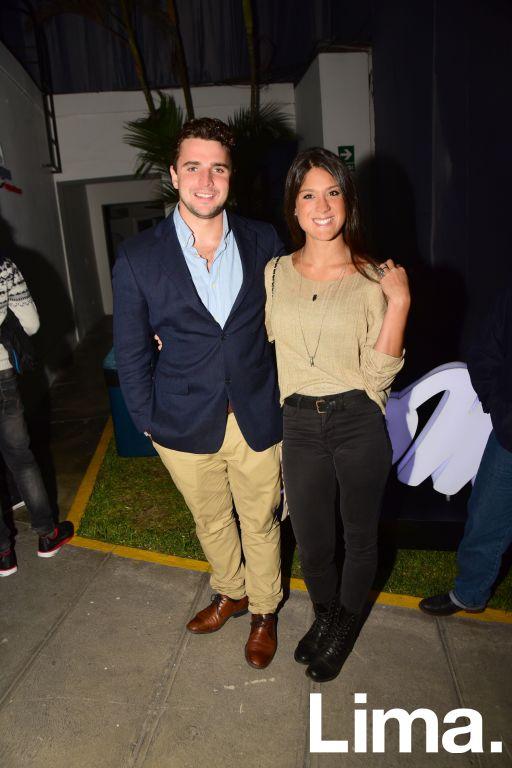 Ignacio Doadrio y Macarena Baumann.