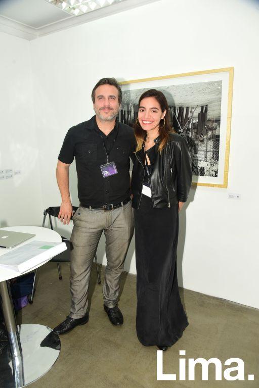 Lucas Blanco e Ixchel Ledesma.