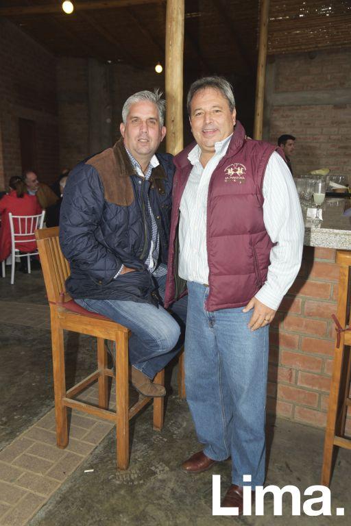 Diego Reblagiati y Pablo Solari.