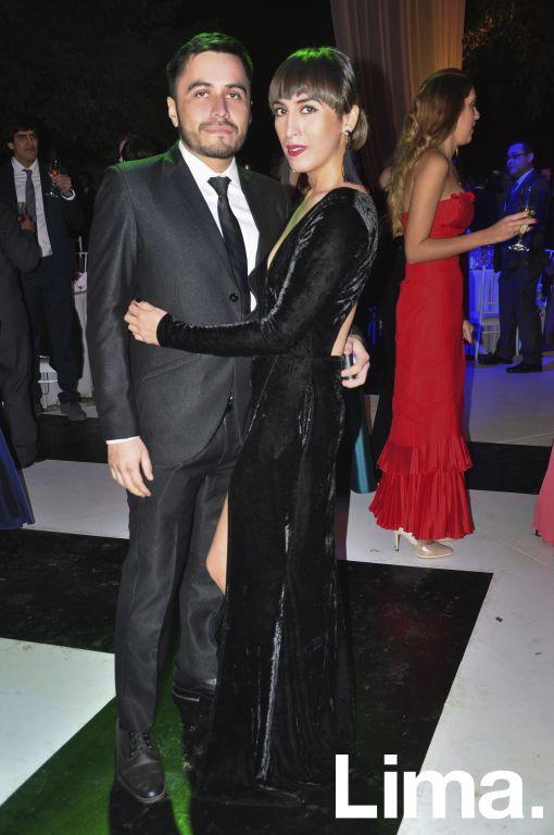 Diego Suárez y Katha Puga.