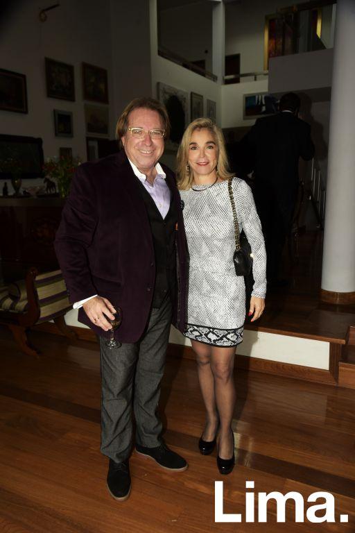 Diego Uceda y Rossella Alberti.