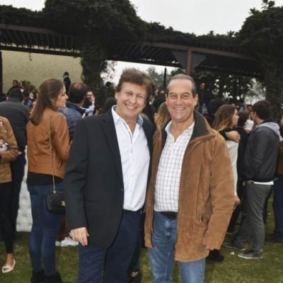 Duilio Sanguineti y Alex Niezen.