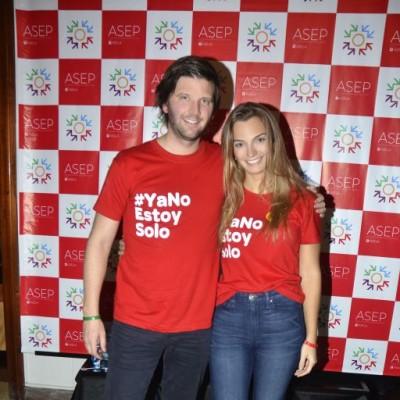 Emilio Rodríguez Larraín y Christine Schnyder.