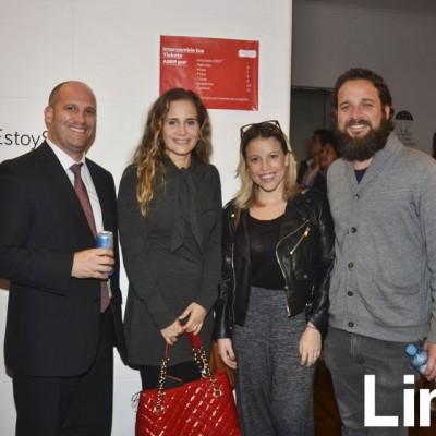 Emush Bozanic, Mosi Mosquera, Sandra Sevil y Gonzalo Villarán.