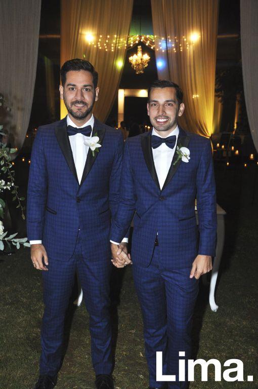 Luis Fernando Delgado y Alvaro Revertido.
