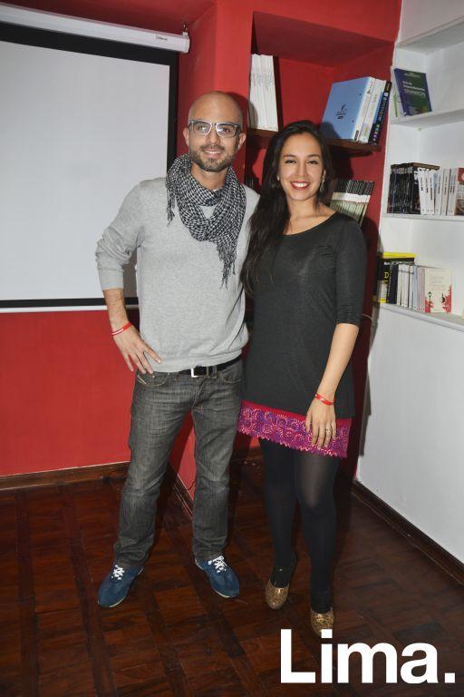 Felix Ipanaque y Marita Ibañez.