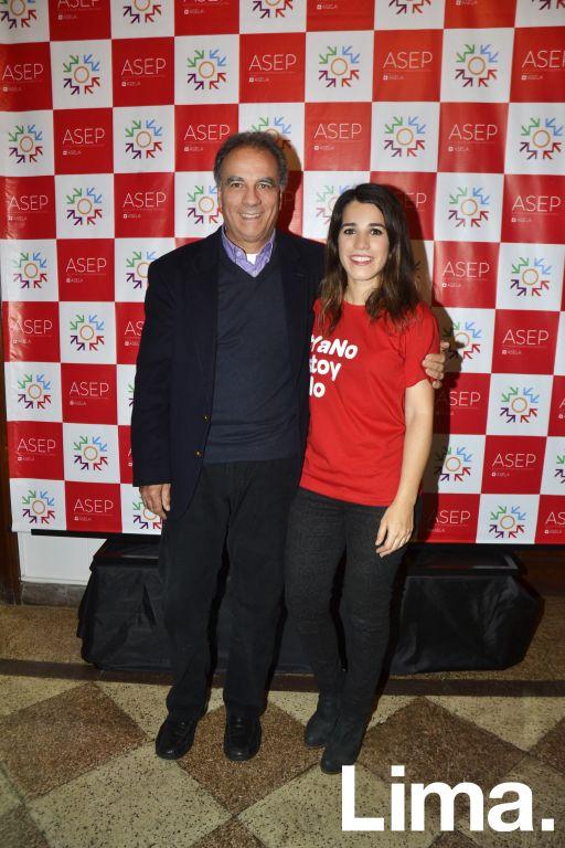 Fernando González y Camila González.