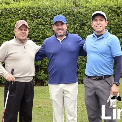 Fredy Nossar, Julio Rizo Patr¢n y Fernando Castañeda.