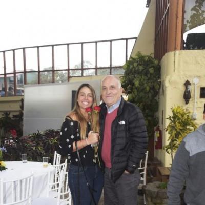 Giana Forcelledo y Humberto Morales.