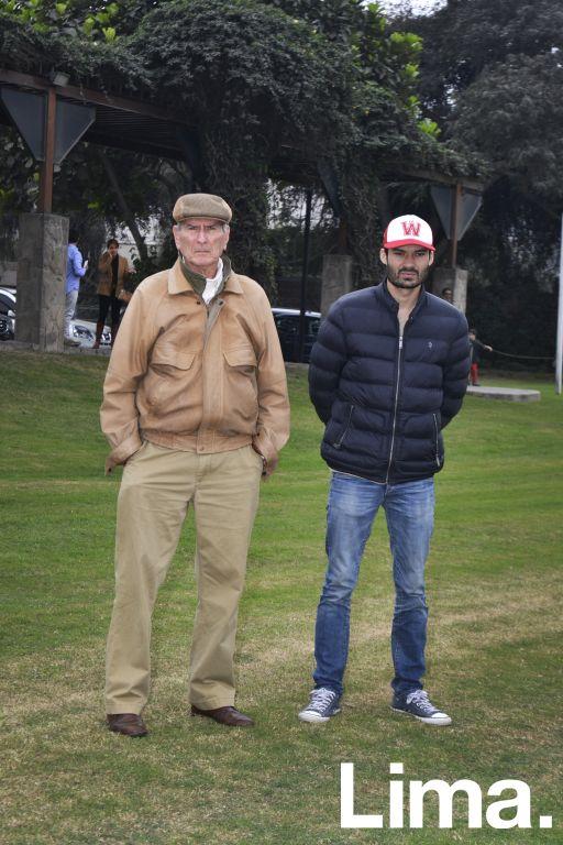 Guillermo y Guillermo Málaga.