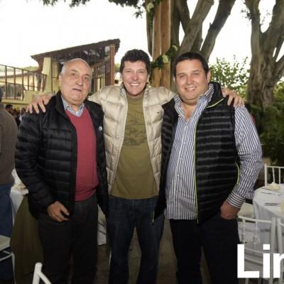 Humberto Morales, Carlos Fernandez y Mario Matellini.