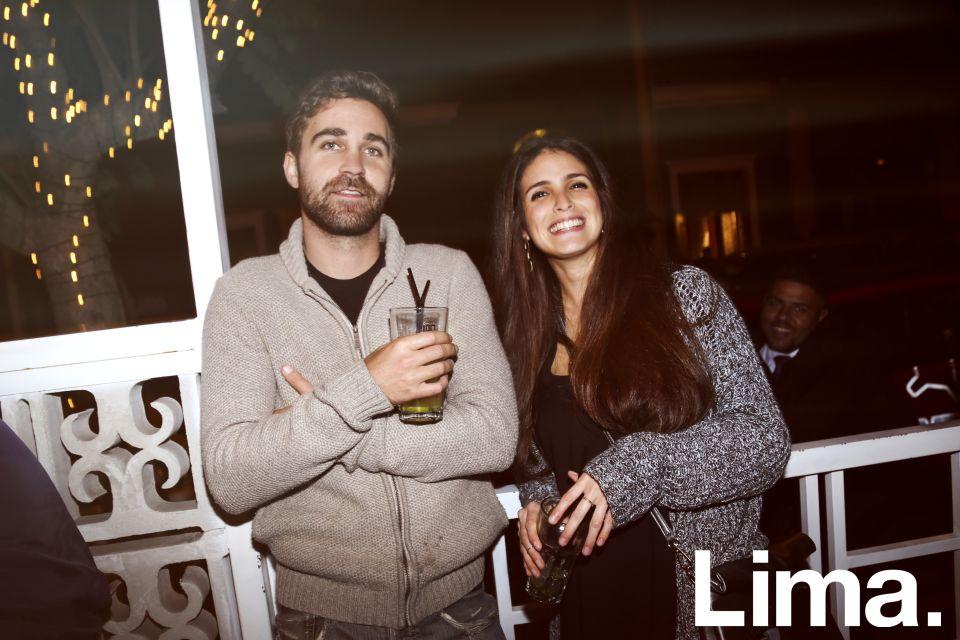 Quentin Mnr y Renee Sousa en Bazar, Miraflores.