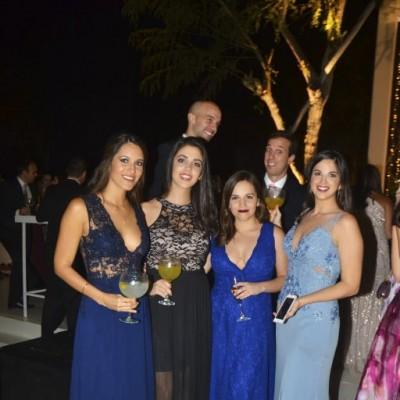 Isabella Tarazona, Verónica Cipriani, Micaela Gutiérrez y Andrea Valle.