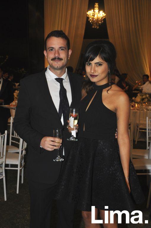 Jaime Fiestas y Alessandra Mazzini.