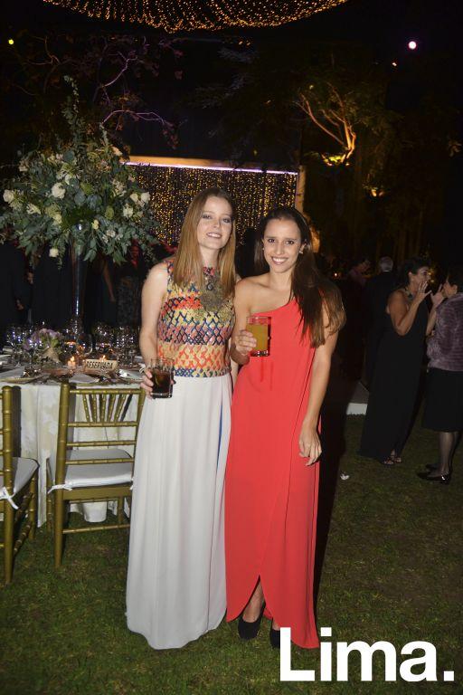 Janine Gray y Andrea Álvarez.