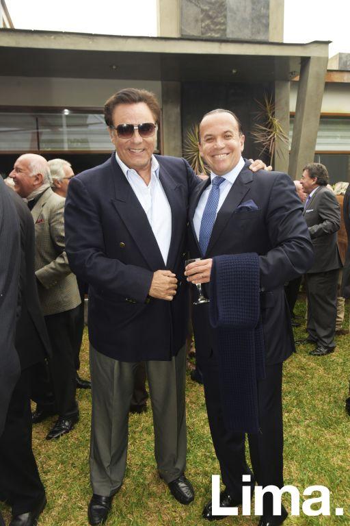 Javier Gonzales Posada y Johnny Brignadello.