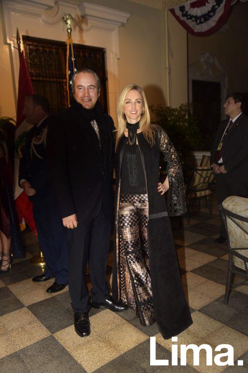Javier Paino y Ani Álvarez-Calderón.