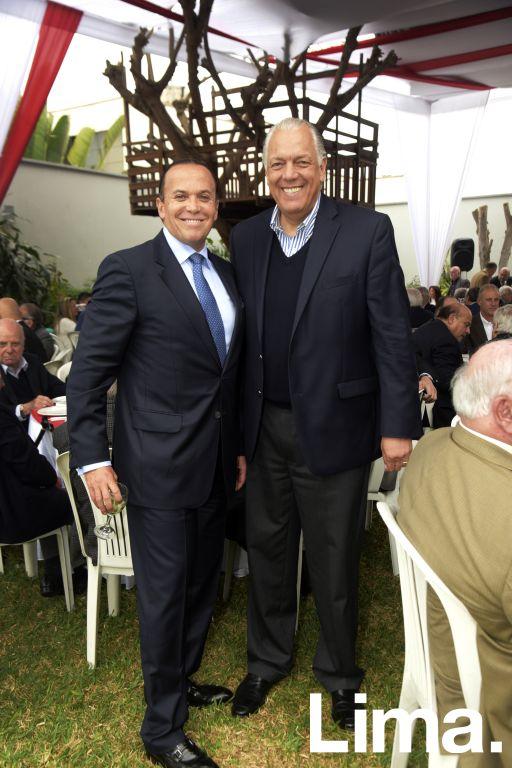 Johnny Brignadello y Álvaro Carulla.