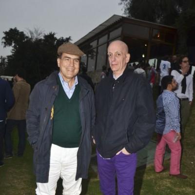 Juan Carlos Rizo Patrón y Collie Casartelli.
