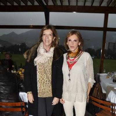 Letizia Rebora y Mónica Rizo Patrón.