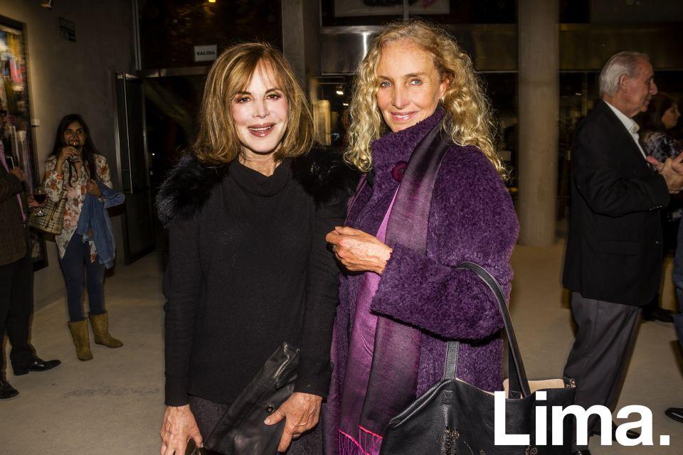 Malika de La Flor y Janine Dib¢s.