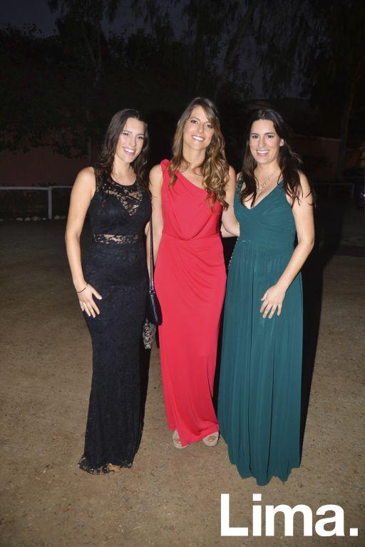 Mariana Baertl, Helena Calle y Lucía Baertl.